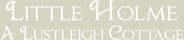 Lustleigh Cottage, Little Holme, Lustleigh, Devon, Cottage to Rent Logo